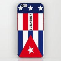 Cubamerica iPhone & iPod Skin