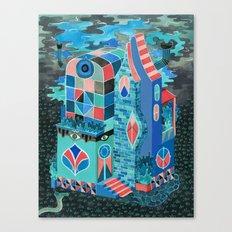 Snake House Canvas Print