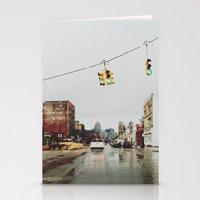 Gratiot Ave - Detroit, M… Stationery Cards