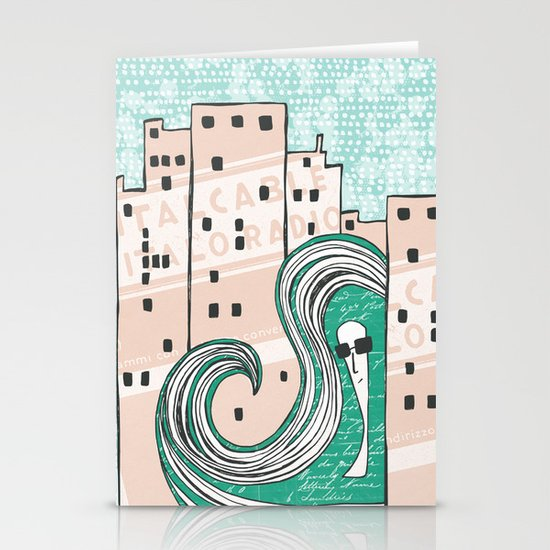City Chic Stationery Card