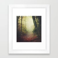 Forest of Miracles and Wonder Framed Art Print