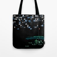 Isolated Snow Storm In Nikko Tote Bag