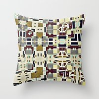 Vintage retroish Throw Pillow