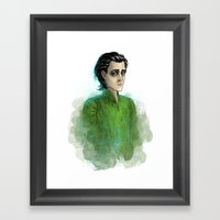 Loki #4 Framed Art Print