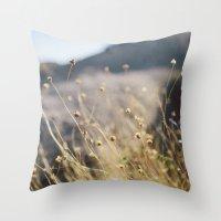 In The Desert Throw Pillow