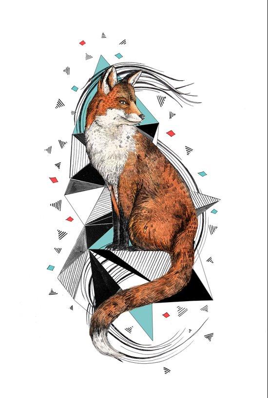 Foa the Fox Art Print