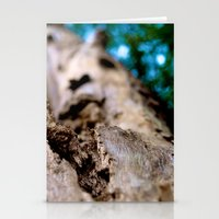 Dying trunk. Stationery Cards