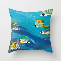 Extraordinary Perception Throw Pillow