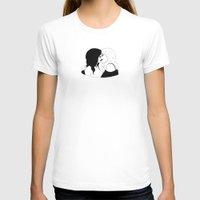 girls T-shirts featuring GIRLS by DRAWDEALER