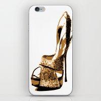 Sparkle Shoe iPhone & iPod Skin