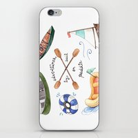 Adventures By Sail Or Pa… iPhone & iPod Skin