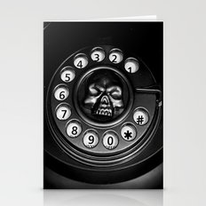 Skull Phone Stationery Cards