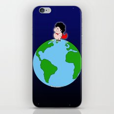 Taking over the world iPhone & iPod Skin