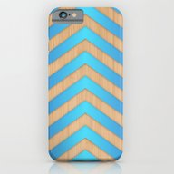 Turquoise Chevron iPhone 6 Slim Case