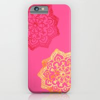 Happy Bright Lace Flower iPhone 6 Slim Case