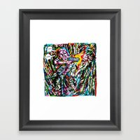 Sharpie, My Love 5 Framed Art Print