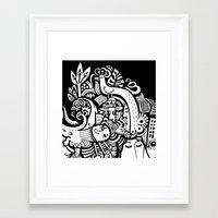 Puisto Framed Art Print