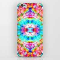 Rainbow Sunburst iPhone & iPod Skin