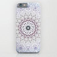 BLUE SUMMER MANDALA iPhone 6 Slim Case