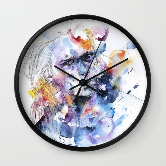 cold crossing Wall Clock