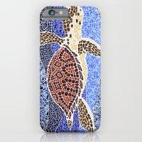 sea turtle: unity through collage iPhone 6 Slim Case