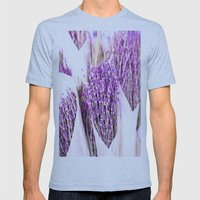 Lavender Mens Fitted Tee Athletic Blue SMALL