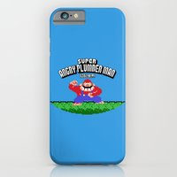 Super Angry Plumber Man iPhone 6 Slim Case