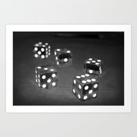 Roll Of The Dice Art Print