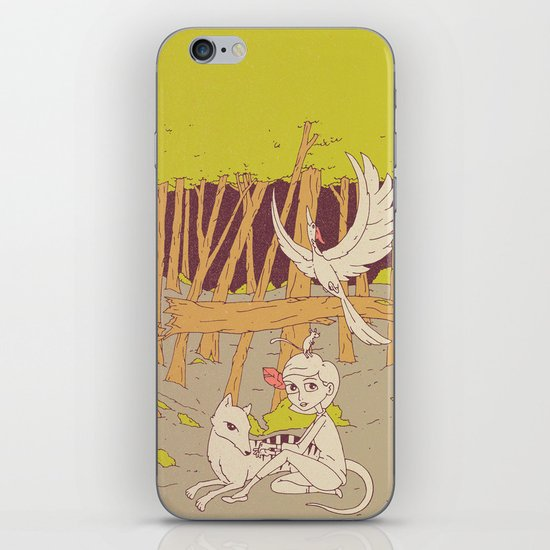 Caelum and the Lost Ones iPhone & iPod Skin