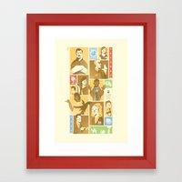 Parks & Rec - Dammit Jer… Framed Art Print