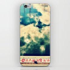 Reserved I iPhone & iPod Skin