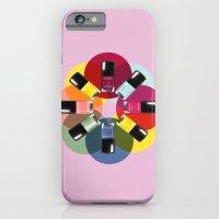 Designer Nail Polish Print iPhone 6 Slim Case