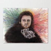 Robb Stark II Canvas Print