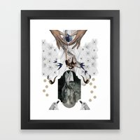 Free_Man Framed Art Print