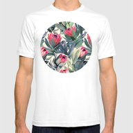 T-shirt featuring Painted Protea Pattern by Micklyn