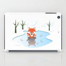 Little Fox On Ice iPad Case