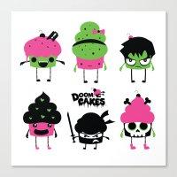 Doomcakes Canvas Print