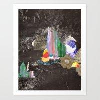 Cave Garden I Art Print