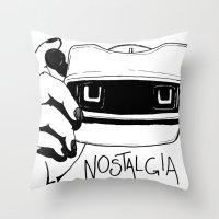 Nostalgia Throw Pillow