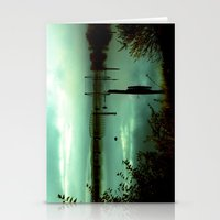 Green Bridge  Stationery Cards