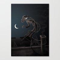 Somnabulist Canvas Print