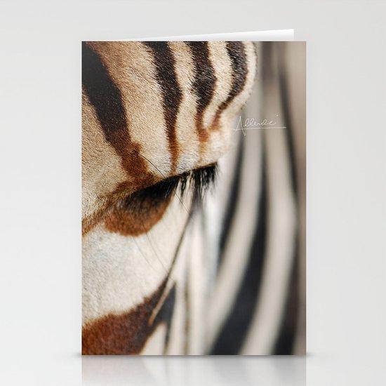 Zebra style Stationery Card