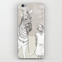 My Pet Zebra iPhone & iPod Skin