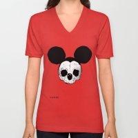Dead Mickey Mouse Unisex V-Neck