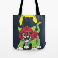 Battle Kitty's Mighty RA… Tote Bag