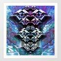 Rorschach#3 Art Print