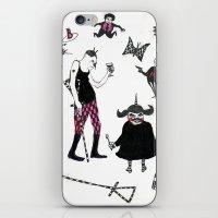 Bequillard et Cie iPhone & iPod Skin