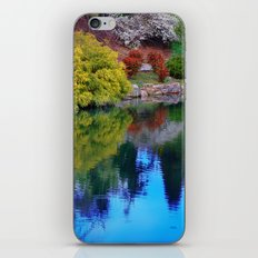 Pond at Ginter iPhone & iPod Skin