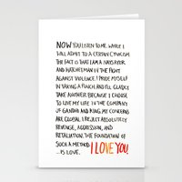 The Foundation Of Such A… Stationery Cards