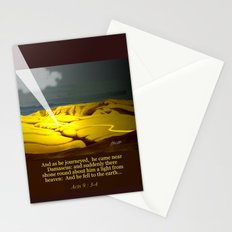 The Road to Damascus Stationery Cards